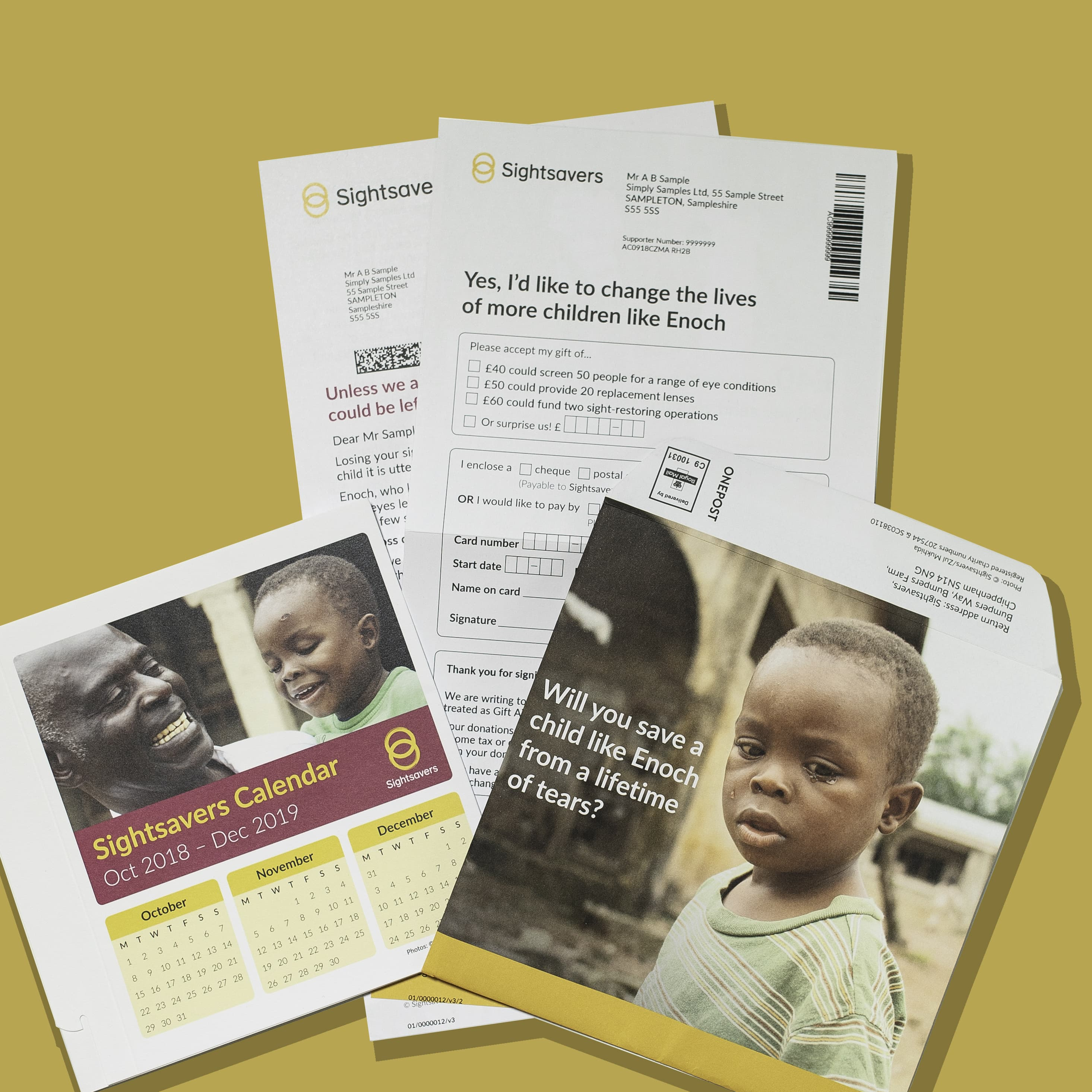 Sightsavers Campaign